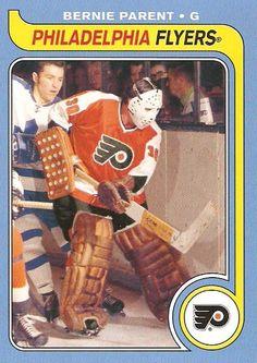 Bernie Parent Flyers Hockey, Ice Hockey Teams, Hockey Goalie, Hockey Players, Hockey Girls, Hockey Mom, Bernie Parent, Hockey Hall Of Fame, Philadelphia Flyers