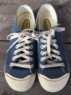 93f68688b659 KEEN Coronado Blue Vulcanized Canvas Sneakers Shoes US Mens 7   Womens 8.5   fashion  clothing  shoes  accessories  unisexclothingshoesaccs   unisexadultshoes ...