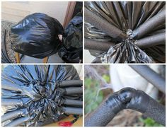 DIY Halloween Decorations: Giant Spider!