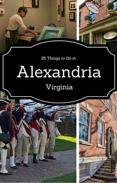 25 Things to do in Old Town Alexandria