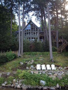 LAKE JOE LOOKOUT - Luxury cottage rental with panoramic views of Lake Joseph, MUSKOKA.