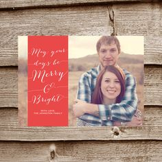 MERRY BANNER    5x7 Digital Photo Christmas Card by ALLYJDESIGNS, $15.00