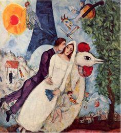 Marc Chagall Wedding..