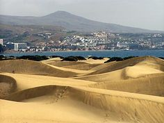 Gran Canaria, Canary Islands. I remember the sand being very hot...but we had to cross the dunes to get to the beach!