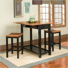 eating in: square bar tables for small kitchens | more squares and