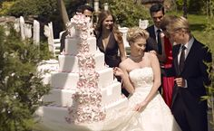 #weddingcake #düğünpastası #leparcdemariage #çağteksgelinlik #kırdüğünü