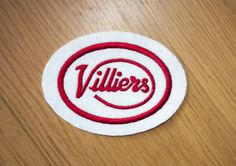CLASSIC VILLIERS MOTORCYCLE  EMBROIDERED PATCH-2 STROKE