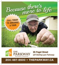 The best Winnipeg Seniors Residence is The Parkway Retirement Community. Live the lifestyle you deserve and arrange your tour today! Landscape Maintenance, Husqvarna, Landscaping Company, Lawn, Retirement, Grass, Centre, Management, Community