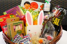 Easter Basket Makeover: Make it healthier with YumEarth Organics Lollipops, Unreal Chocolote, Annie's Homegrown and more.
