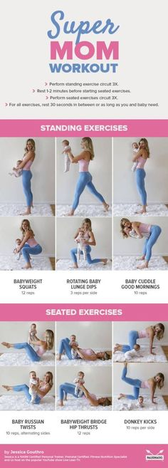 For all those mommas wanting to get fit with your baby by your side!!