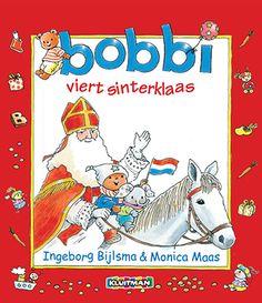 Bobbi viert sinterklaas - Groot formaat - Geschreven door Ingeborg Bijlsma.   Illustraties Monica Maas