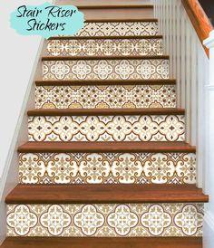 15steps Treppe Riser Vinyl Streifen abnehmbare von SnazzyDecal