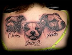 A tribute to her pups by Martin hatton