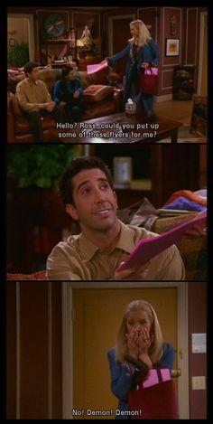 FRIENDS é o melhor seriado engraçado que existe =D