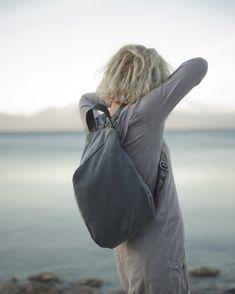 Morphic gray Waterproof backpack @naga lab
