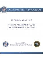 Cartel-affiliated groups likely to expand heroin, meth trafficking in Oregon, report concludes (Oregonian, 6/12/2014).  Oregon HIDTA Program drug threat assessment & counter-drug strategy (annual) by Oregon HIDTA Program.