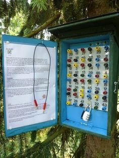 Puzzle geocache.  Looks like it was made by an electrical engineer.  :)