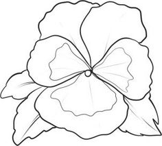 how to draw a pansy step 5