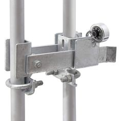 19 Design Elements And Trends Chain Link Fence Double Gate Latch That Are Just Perfect In 2020 Chain Link Fence Chain Link Fence Parts Wood Fence Post