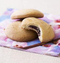 Petits sablés fourrés au chocolat