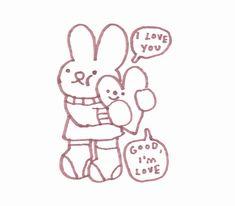 Cute Doodles, Cute Memes, Lovey Dovey, Wholesome Memes, Softies, Plushies, Loving U, Vkook, Cute Drawings