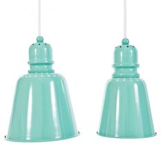 Sebra Lamp Pendants in Turquoise