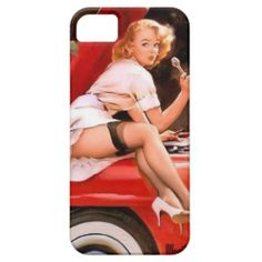 Pin up girl iPhone 5 case