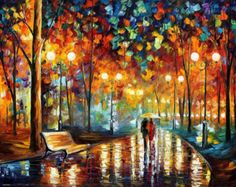 OIL ON CANVAS PAINTING DIRECTLY FROM FAMOUS ARTIST LEONID AFREMOV Title: Tango of passion Size: Variable Condition: Excellent Brand new Gallery Estimated Value: $4,500 Type: Original Recreation Oil Painting on Canvas by Palette Knife This is a recreation of a piece which was already sold. Its not an identical copy, its a recreation of an old subject. This recreation will have texture unique just to this painting, a fingerprint that can never be repeated. My recreation will look similar bu...