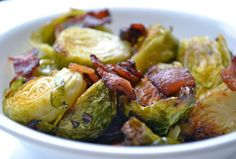 Have Some Healthy With That Bacon: Brussels Sprouts with Bacon Recipe!
