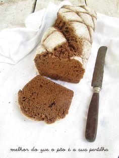 Pão Escuro com Alcaravia