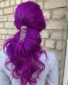 I see Plum hair in your future - in love with these lush Plum locks by @hair_pavlova #lunartides #purplehair #plumhair Plum Purple Hair, Diy Beauty, Dyed Hair, Curls, Hair Makeup, Dreadlocks, Hair Styles, Eye Colors, Colored Hair