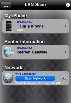 SAVE $2.99: LANScan gone Free in the Apple App Store. #iOS #iPhone #iPad  #Mac #Apple