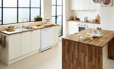 Inspired by the romance of country life, this timeless design offers iconic style with a surprising modern twist. Its rustic origins are re-imagined through sophisticated, cutting edge design, highlighted in the stunning hickory maple waterfall benchtop with its classic timber look and contemporary profile.