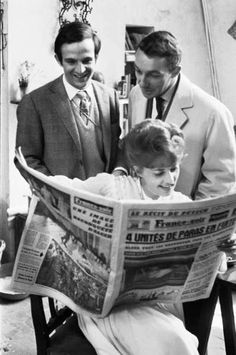François Truffaut n°3 - 1962 - Jules & Jim with Jeanne Moreau