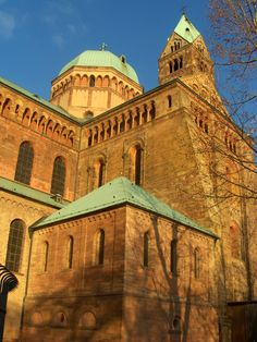 SPEYER CATHEDRAL IN GERMANY