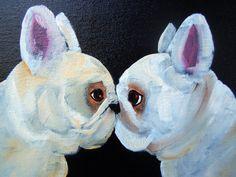 French Bulldog Art Print /Big Attitude/ by Original by dogwagart, $13.75