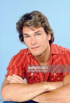 Actor and dancer Patrick Swayze poses for a portrait on July 27 1982 in Los Angeles California