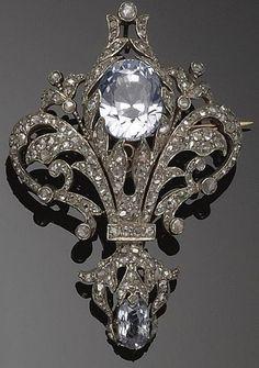Brooch pendant, 1890.