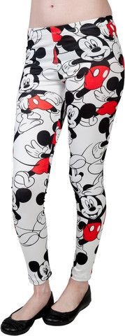 Mickey Mouse Leggings – 80sTees.com, Inc.