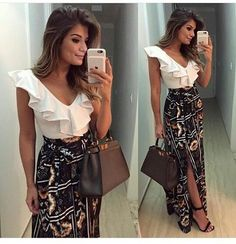 I love everything about this Fall outfit. Lovely Fall Fresh Looking Outfit. 54 Fresh Fashion Trends That Always Look Great – I love everything about this Fall outfit. Lovely Fall Fresh Looking Outfit. Dress Robes, Dress Skirt, Dress Outfits, Fashion Outfits, Womens Fashion, Fashion Trends, Fashion Clothes, Skirt Pants, Fashion Fashion