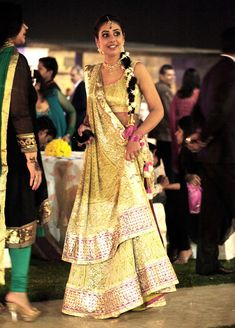 Chikan lengha in pistachio by Amrita Thakur, so gorgeous! Wedding Sutra.com :: Real Brides Real Style
