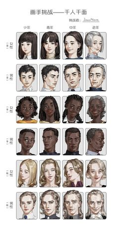 This makes me so emotional. Seeing people age. 😭 It's so cute and sad at th… - ART TUTORIALS Digital Painting Tutorials, Digital Art Tutorial, Art Tutorials, Digital Paintings, Drawing Techniques, Drawing Tips, Age Progression, Poses References, Art Reference Poses