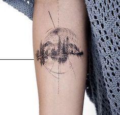 Minus the globe - Tattoo ideen - Tatouage Model Tattoos, Body Art Tattoos, Sleeve Tattoos, Tatoos, Skull Tatto, Neck Tatto, Tattoo Arm, Tiny Tattoos For Women, Small Tattoos