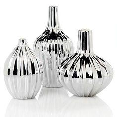 J Adler Panton trio of vases