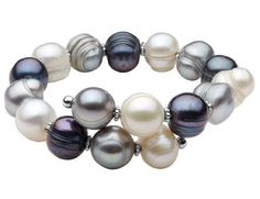 Multicolor Freshwater Pearl 10-12mm Bracelet in Sterling Silver MyJewelryBox. $49.99. If you are not completely satisfied, you can return any order for refund or exchange within 30 days from the date of shipment - shop with confidence!. Free Signature MyJewelryBox Gift Box. Save 58% Off!