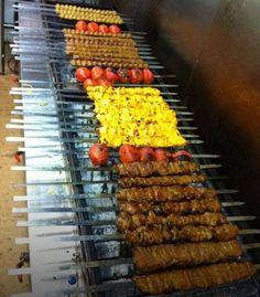 Variety of persian Kebabs