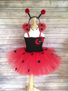 Ladybug costume - lady bug tutu - ladybug dress - ladybird dress - halloween costume - red and black tutu - red tutu dress - ladybug tutu by DivazByDesign on Etsy https://www.etsy.com/listing/224081208/ladybug-costume-lady-bug-tutu-ladybug