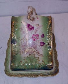 Victorian covered cheese dish