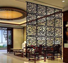 Restaurante restaurante retro hueco tallado de madera cortina decorativa colgante de pared minimalista ( A solo 29 * 29 * 0.5 cm / * 1 unidades de la venta )(China (Mainland))