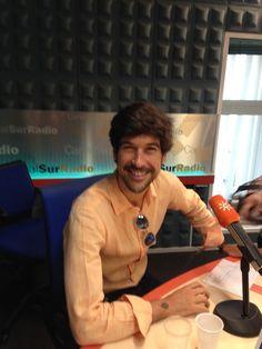 Foto de Carlos Telmo (16/06/2014) Programa Aqui Estamos en Canal Sur Radio #Músicaemoción